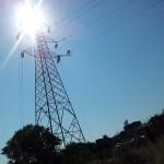 Tesatura linea elettrica